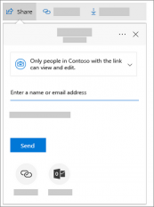Create a shared folder for your team to edit with Onedrive