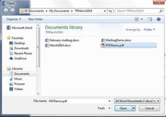 Edit PDF With Word