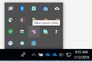 How to create and locate quick notes